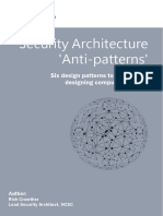 NCSC Security Architecture Anti-patterns White Paper