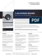 Dexter T 650 OPL EXPRESS Specification