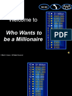 Who Wants to Be a Milionary