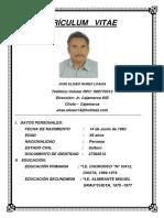 Currículum Vitae Jose Núñez Obras de Arte