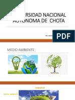 1° UNIVERSIDAD NACIONAL AUTÓNOMA DE  CHOTA