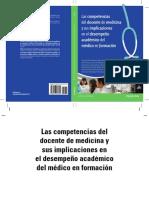 Libro Las Competencias Del Docente de Medicina