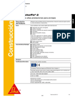 Ficha Tecnica Sika AnchorFix 2 Ada Distribuciones
