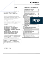 Manual de Servicio Kymco Jetix 125