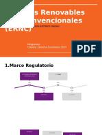 Energías Renovables No Convencionales (ERNC)