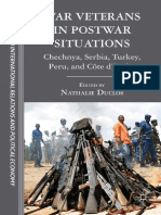 (the Sciences Po Series in International Relations and Political Economy) Nathalie Duclos (Eds.) - War Veterans in Postwar Situations_ Chechnya, Serbia, Turkey, Peru, And Côte d'Ivoire-Palgrave Macmil