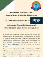El Orden Economico Internacional