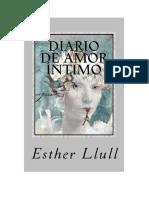Llull Esther - Diario de Amor Intimo