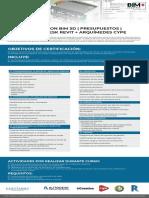 BIM+_CONEXION BIM 5D _ PRESUPUESTOS _ AUTODESK REVIT + ARQUIMEDES CYPE