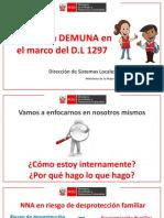Rol de La DEMUNA en El Marco Del DL 1297