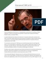 26-07-2019 Llevan al límite pláticas para el T-MEC en EU - Eleconomista