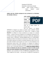 Expediente Nº 00518-2016-0-2402-JP-FC-03