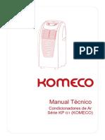 Manual Técnico. Condicionadores de Ar Série KP G1 (KOMECO) (1)
