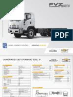Ficha Tecnica Camion FVZ Corto Forward Euro IV