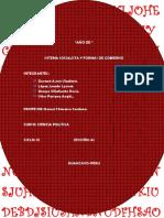 Sistema Socialista y Formas de Gobierno