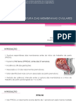 Ruptura Prematura Das Membranas Ovulares