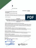 Ordenanza N° 2152 Chorrillos