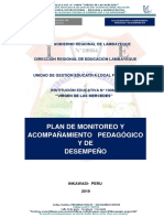 Plan de Monitoreo 2019 10084