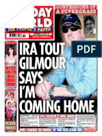 Former Special Branch /  MI5 undercover Agent Raymond Gilmour abandoned to die
