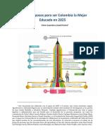 Colombia educada 2025