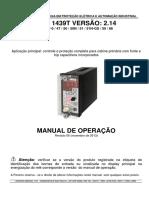 Manual Operação Relé Cabine