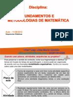 FMM Aula SequenciaDidatica.11!09!2012