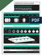 Tabela Para Configuração Da Câmera No Manual