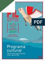 PROGRAMA XXIV FERIA INTERNACIONAL DEL LIBRO DE LA PAZ