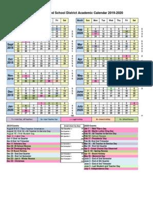 Fairfield University Calendar 2022 2023.Mt Diablo Unified School District S 2019 2020 School Year Calendar Academic Term Public Holiday