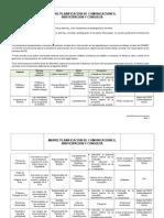Matriz Planificación de Comunicaciones, Participación y Consulta