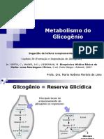 Aula 3 - Metabolismo Do Glicogênio (2018)