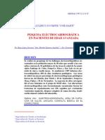 Pesquisa Electrocardiográfica en Pacientes de Edad Avanzada 1997
