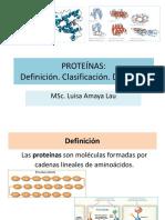 Proteínas digestión