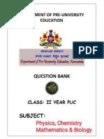 PUC II PCMB BOARD QUESTION BANK.pdf