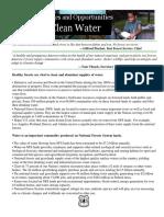 Abundant Clean Water 2013