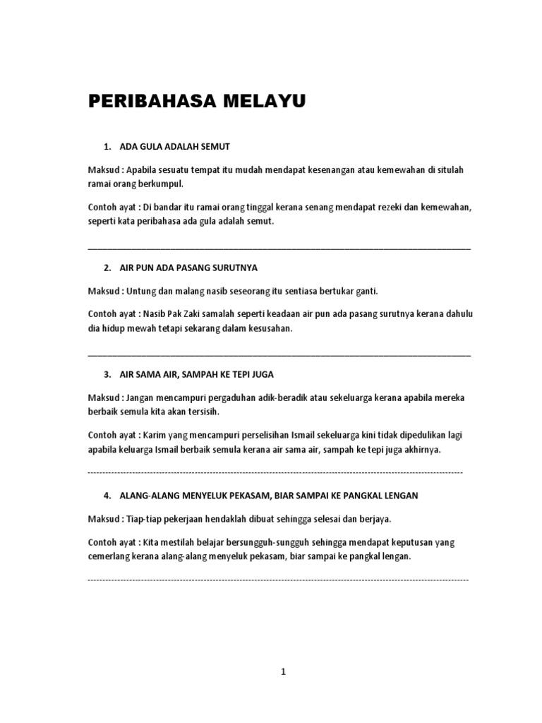Peribahasa Fikri 1 Docx