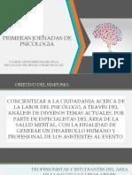 JORNADAS DE PSICOLOGÍA
