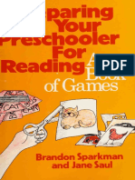 Preparing Your Preschooler for Reading a Book of Games