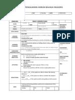 Form 1 Lesson Plan Zu
