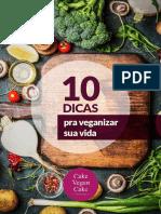 eBook -10 Dicas Pra Veganizar - CAKE