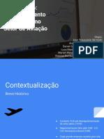Exemplo 6.6 - Setor de Aviação