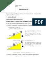 Trabajo 4 - Fuerza de Friccion Estatico
