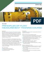 {82f14bda-b5ff-4756-Ab50-42bcc05c7cad} OG GAS GLOB XXXX Principles of Flow Measurement Training Course