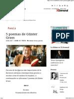 5 Poemas de Günter Grass - Zenda