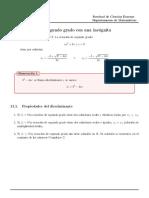 11. Ecc Cuadratica (2019)