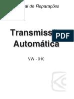 Manual manutenção transmissão VW 010