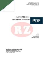 Laudo Aterramento Microntek 2019 - RZ Elétrica