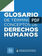 glosario DDHH
