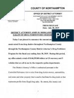 NorCo DA Forfeiture Report