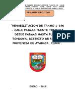 Resumen Ejecutivo Calle Paimas